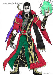 Zagor, the Warlock of Firetop Mountain (Color) by AntoniasOfTheAbyss