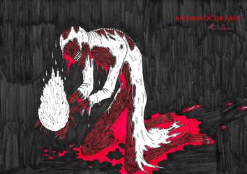 Dark Dweller Flame Bearer by AntoniasOfTheAbyss