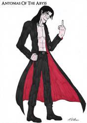 Death Lucifer Request Part 1 (Human Form) by AntoniasOfTheAbyss
