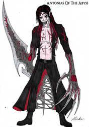 Death Lucifer Request Part 2 (Semi-Transformed) by AntoniasOfTheAbyss