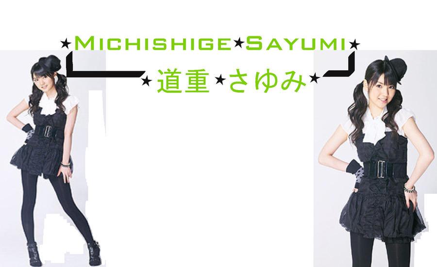 Michishige Sayumi Wallpaper by sun-ai-lang on DeviantArt