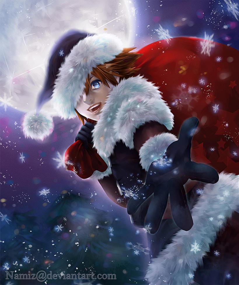 Kingdom Hearts - Dark Santa by Namiz