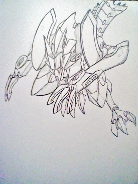 Megaman Zero 4 FinrirLuneredge by AZURA-FANG