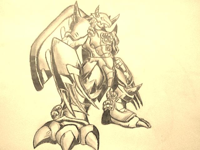 WarGreymon by AZURA-FANG