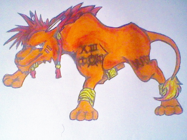 RedXIII by AZURA-FANG