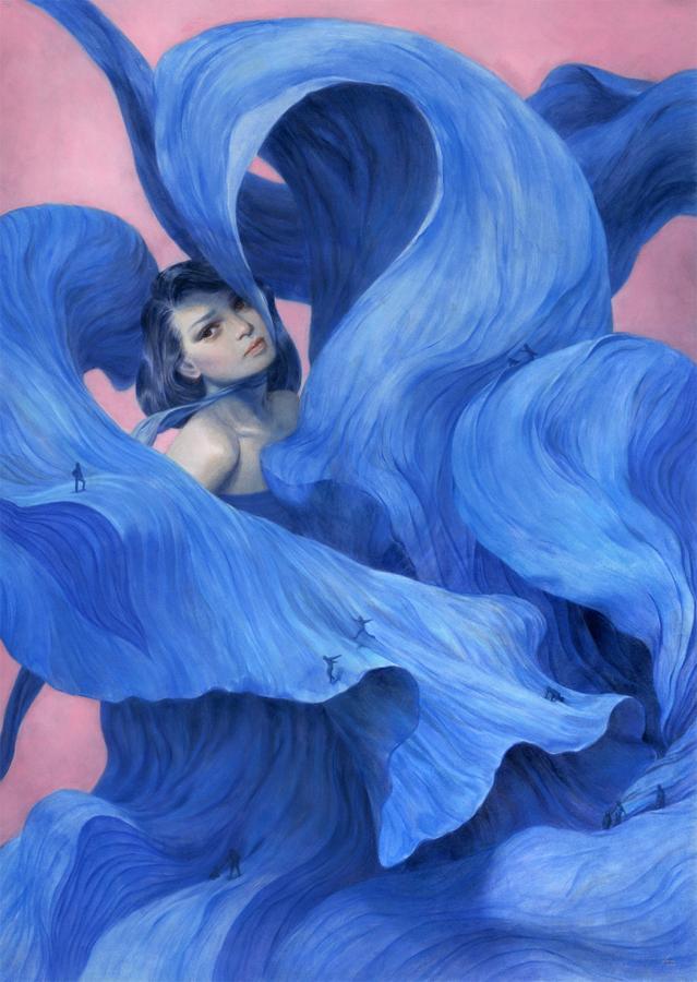 Across a Blue... by mynameistran