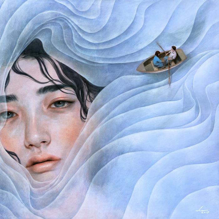 The Lilac Lady by mynameistran