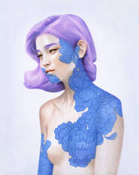 A Lilac Lover by mynameistran