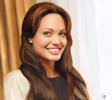 Angelina Jolie by babekitten