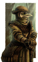 plague doctor of the forest