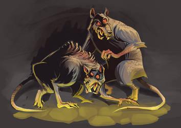 corrupted rats