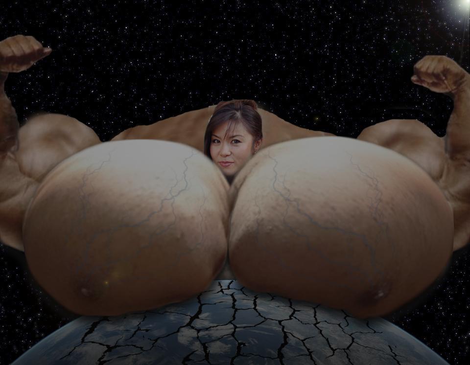 Planetary Pecs by MegaMuscleMonsters