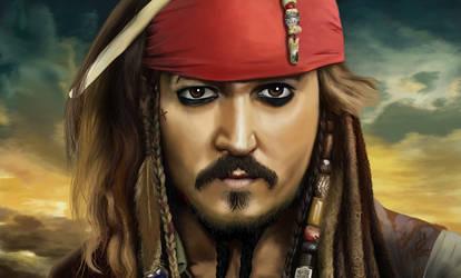 Captain Jack Sparrow by mrPaulDure
