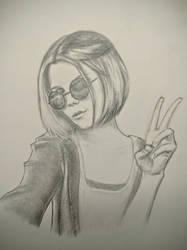 Some girl by mrPaulDure