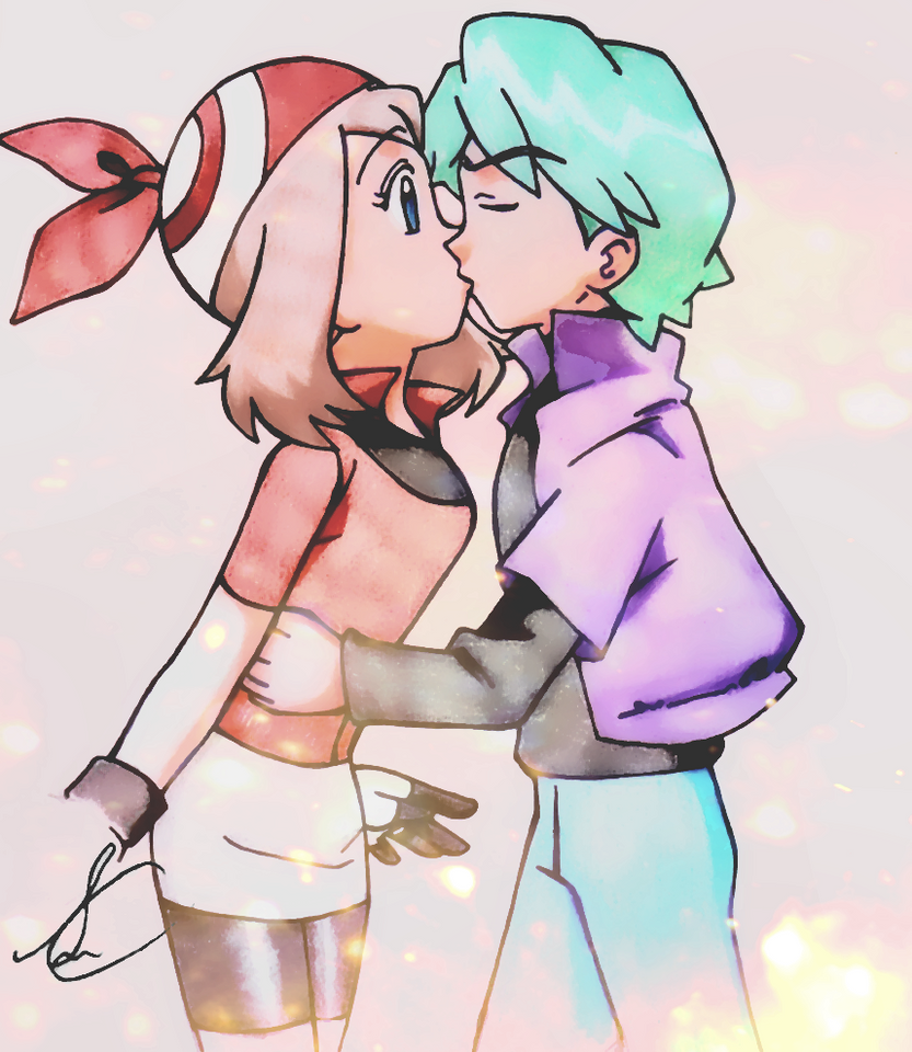Pokemon episode 357 ash and may kiss