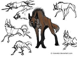 Maned Wolf by SquishyMew