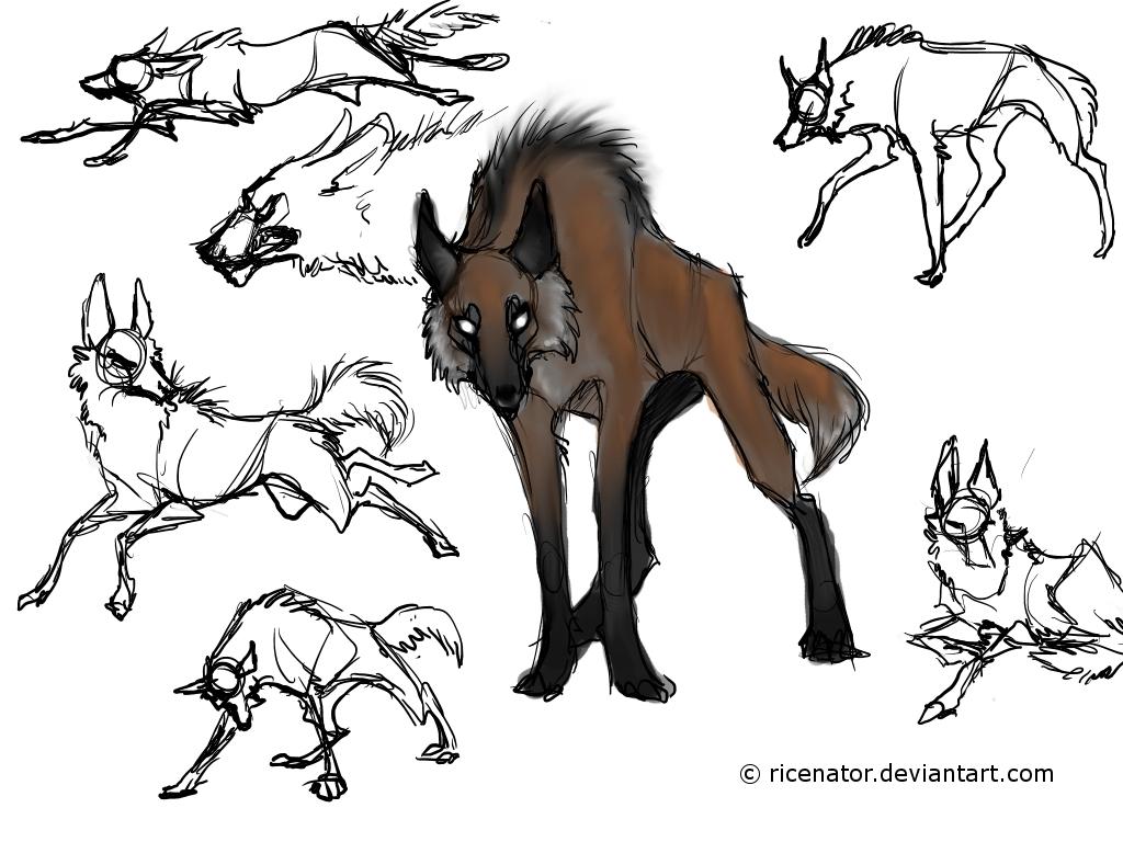 Maned Wolf By Ricenator On DeviantArt