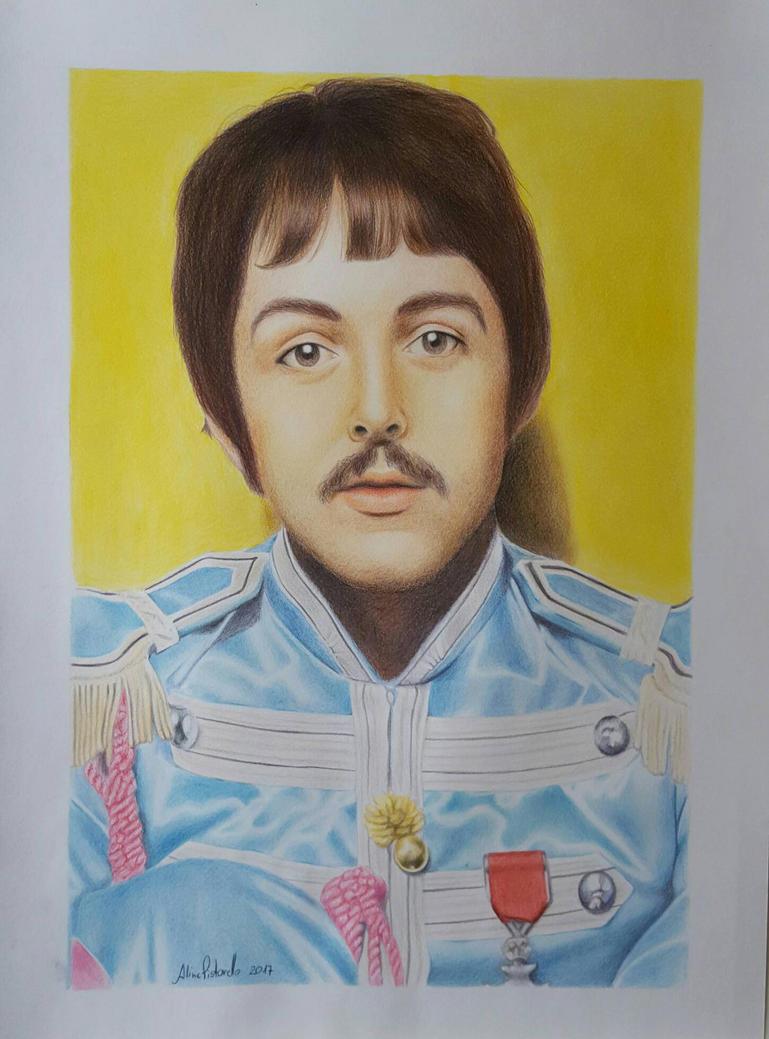Fan Art Paul McCartney By AlinePistorello
