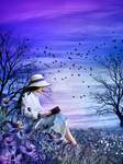 The Blue Novel by JulieLangford