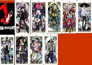 Persona 5 Phantom Thife Mienbros by phantomDharak99