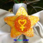 Sailor Venus Wedding Brooch by TheElegantOtaku