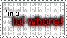 Stamp: lol whore-- by Pauan