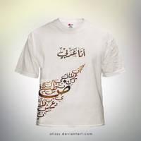 I'm Arabian.  T-Shirt by alizzy