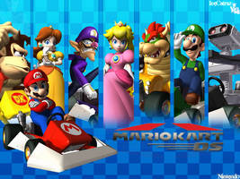 Mario Kart DS Ending Wallpaper by IceCatraz