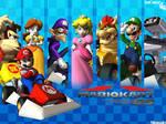 Mario Kart DS Ending Wallpaper