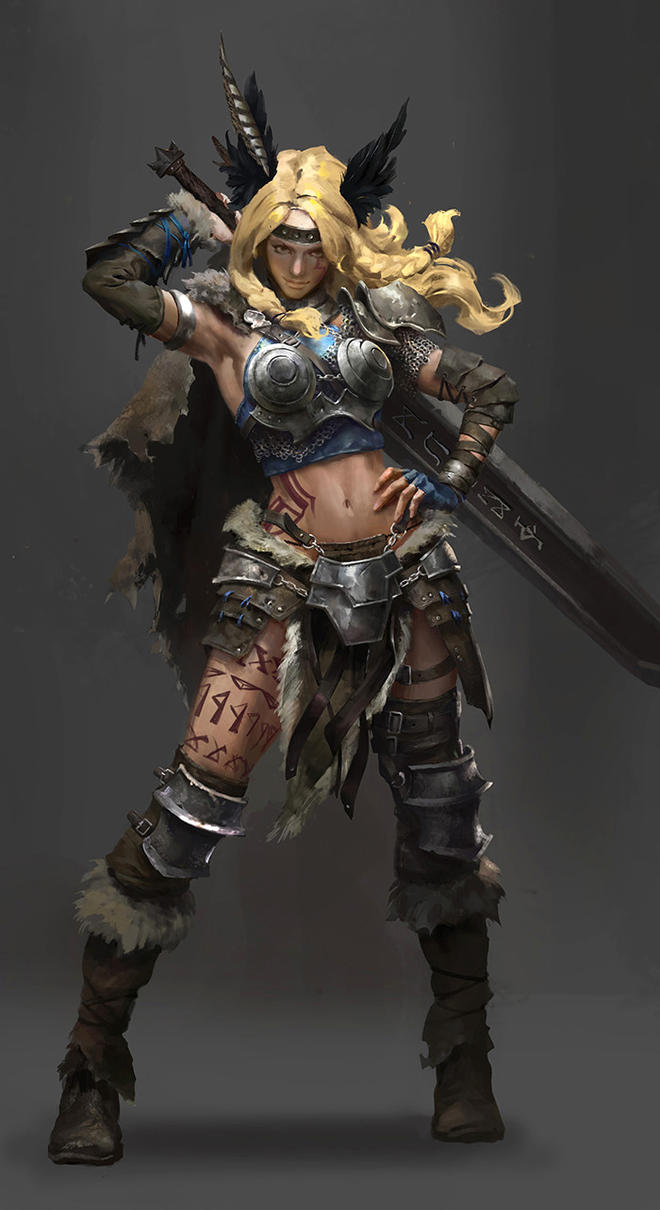 Character Design_Valkyrie by luulala