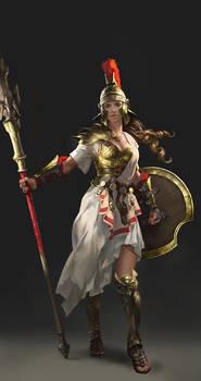Character Design Athena