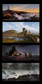 Speed painting Practice