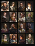 Portraits for Rival Knights