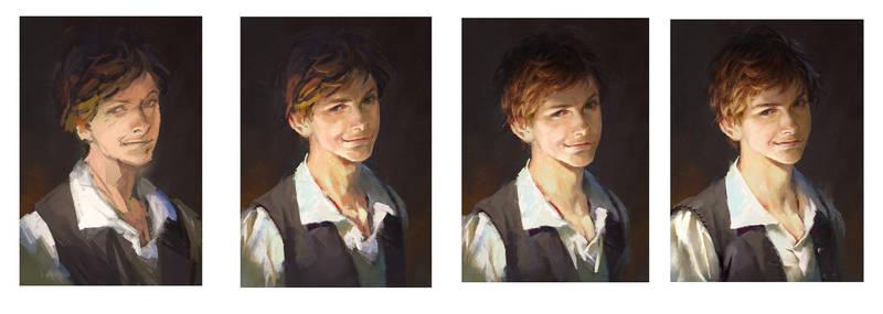 Portrait Working Process
