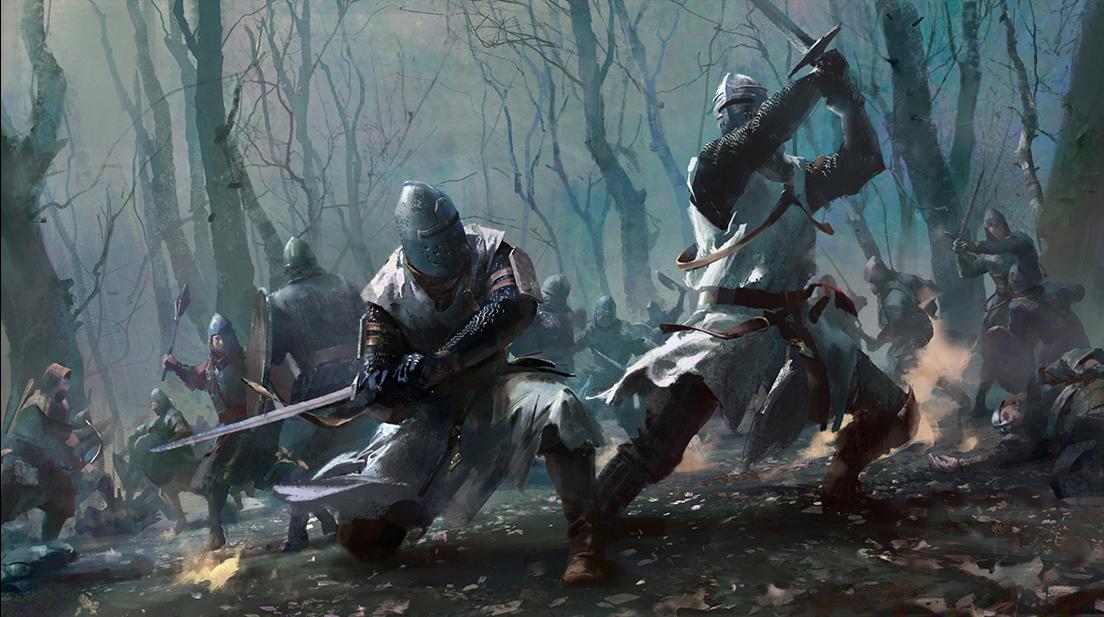 Unused sketch for Total War_Kingdom