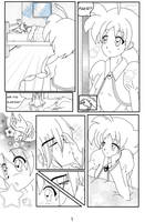 Are you Sleeping? Pag 1 -LineART- by Akiko-Himura