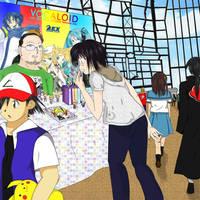 Yo en Anime expo by Akiko-Himura