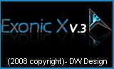 Exonic X v.3 by dougawatkins