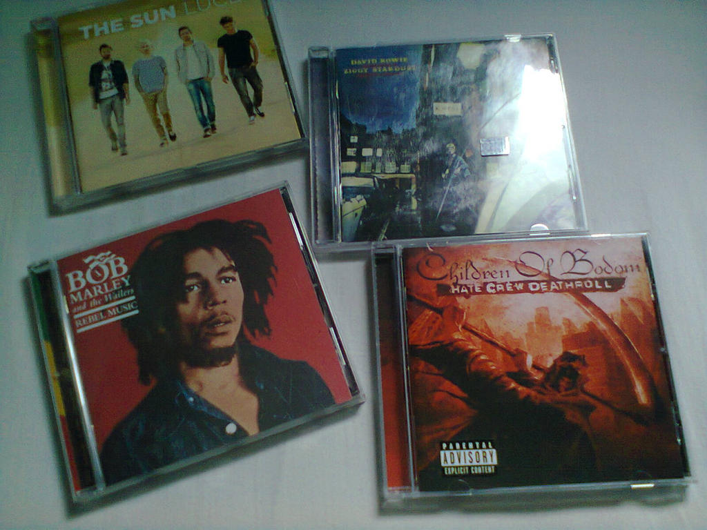 I love my CDs by CedellaMarley