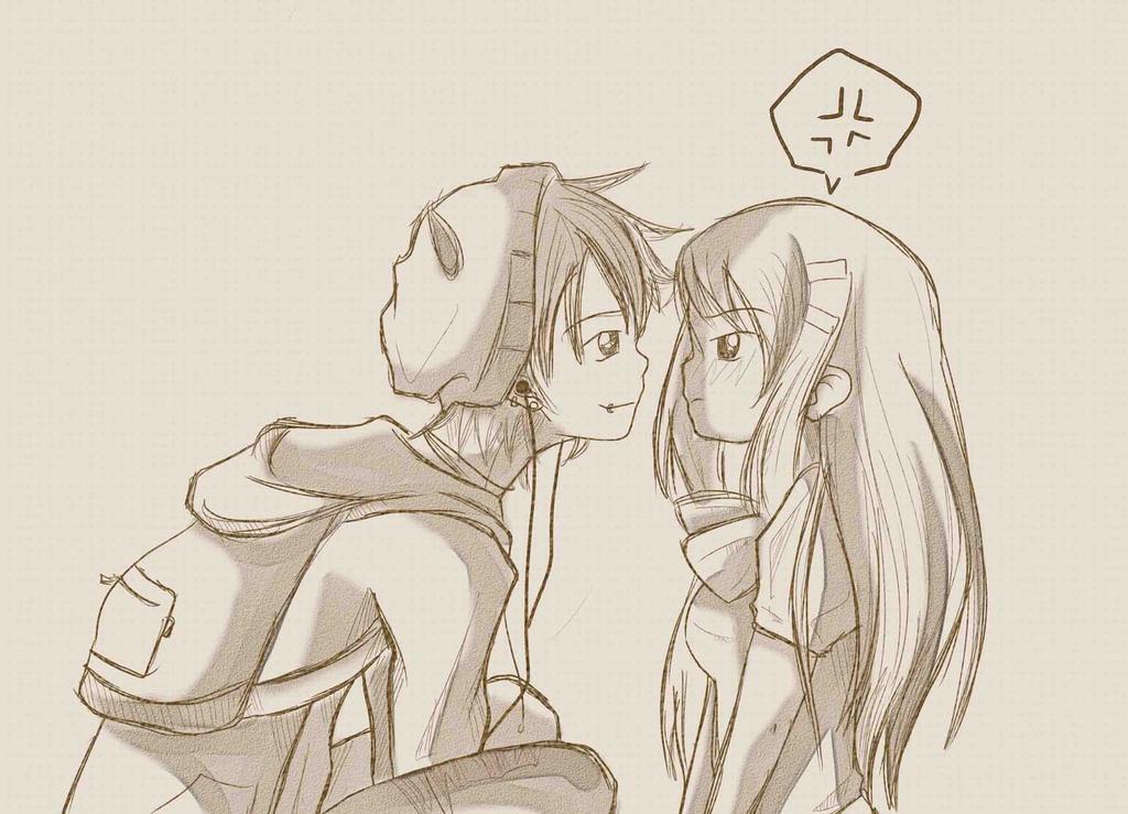 Anime Couple Drawing Tumblr Anime Collection