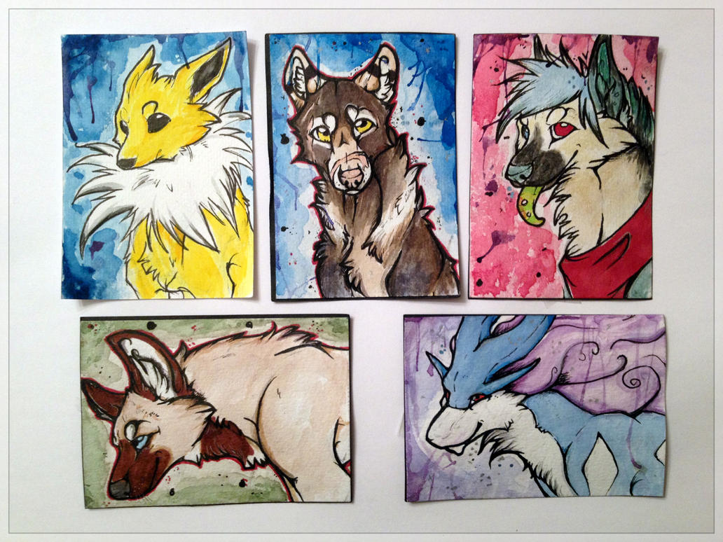 ACEO Batch 1 by Crimson-Asylum