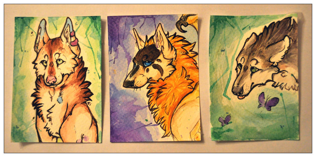 ACEO Batch 3 by Crimson-Asylum
