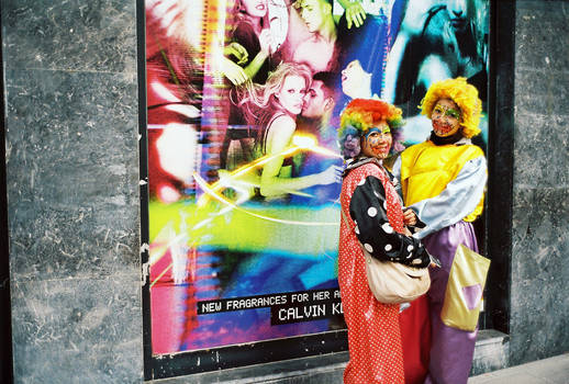 Clowns of Istanbul