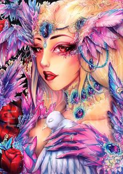 Winged Lady