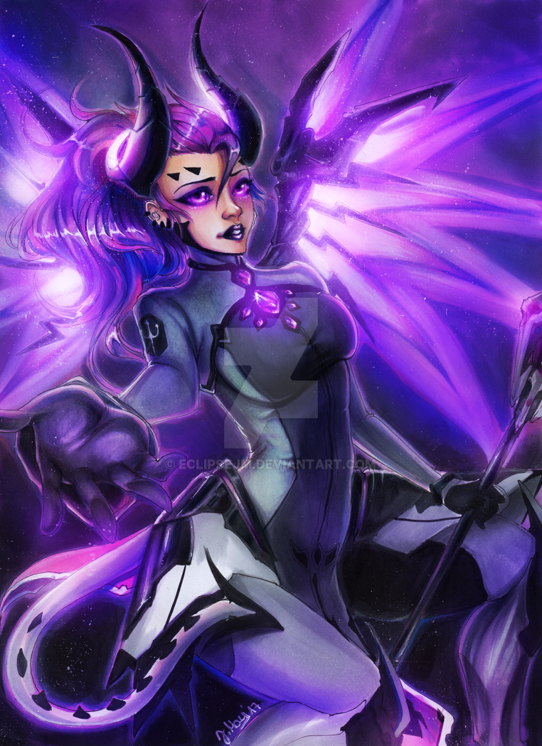 Mercy IMP Overwatch - Eclipse Arts by EclipseJM