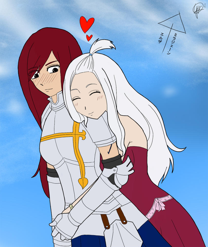 Erza And Mirajane And ...