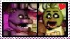 bonnie X chica 2 stamp by QUEENLISA326