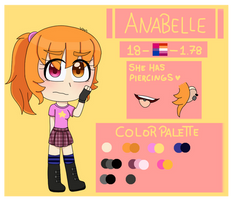 OC - Anabelle Reference