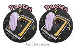 Prayer by KariIllustrations