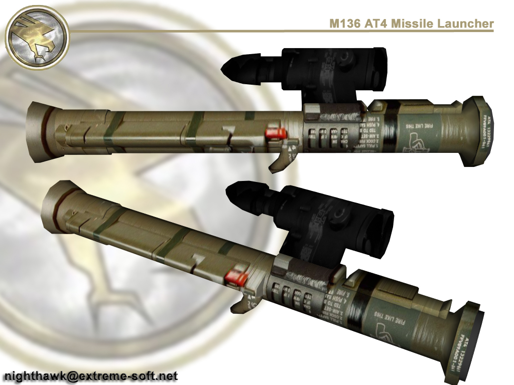 M136 AT4  Rocket Launcher  DrillPalcom